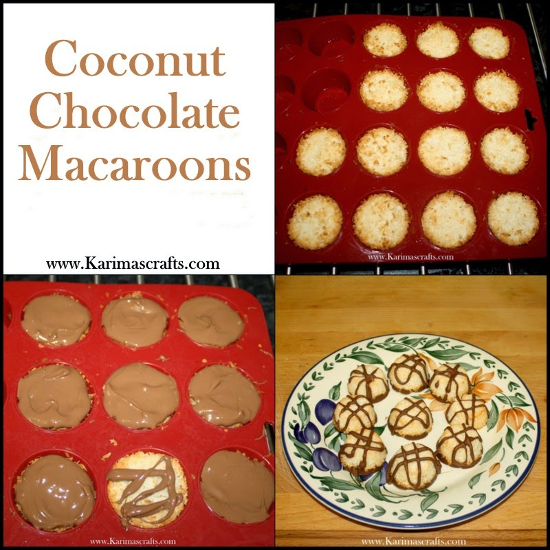 coconut chocolate macaroons recipe