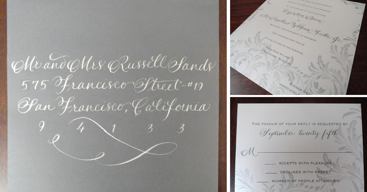 Contribution For Wedding Gift Mail : Cristines Ink Blog: Fall In Love with this Fall Wedding Invitation