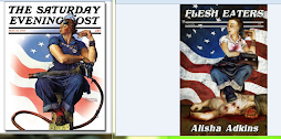 Rockwell's Rosie: Cover Art Side by Side