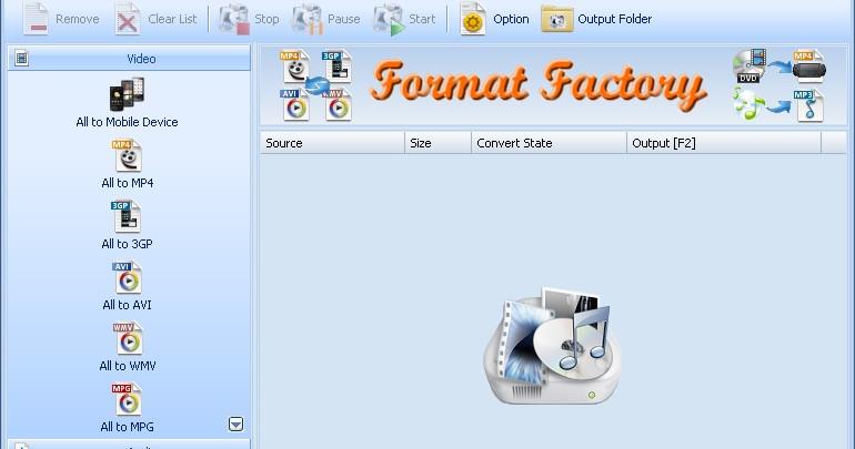 Format Factory - Unduh