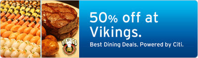 50% discount at Vikings SM Marikina