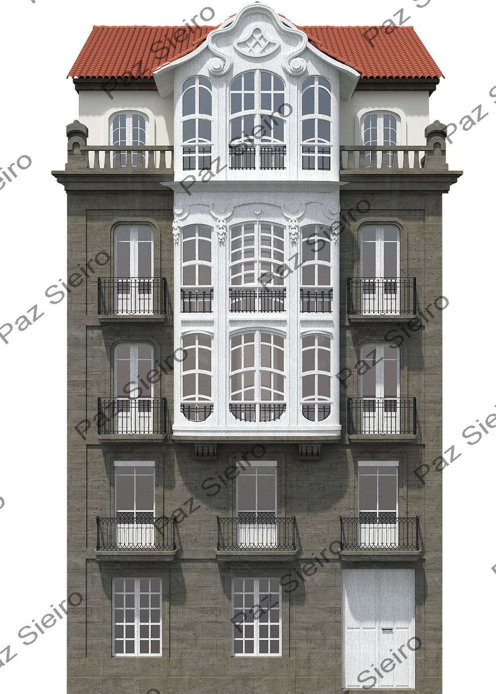 Edificio antonio lvarez 1917 estilo modernista - Arquitectos ourense ...