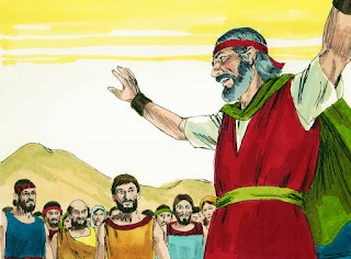 Bible Fun For Kids Moses Water From A Rock Amp Victory