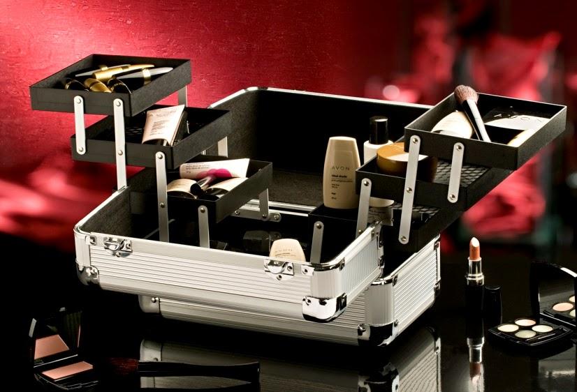 maleta, maquiagem, ideal