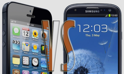 Samsung Galaxy S3 vs Apple iPhone 5 drop test