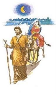 José e Maria fogem