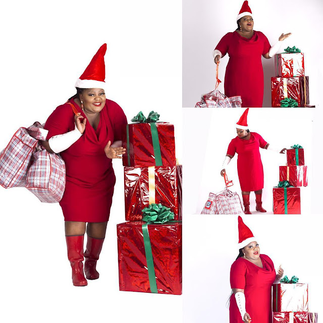Eniola Badmus' Christmas Photos