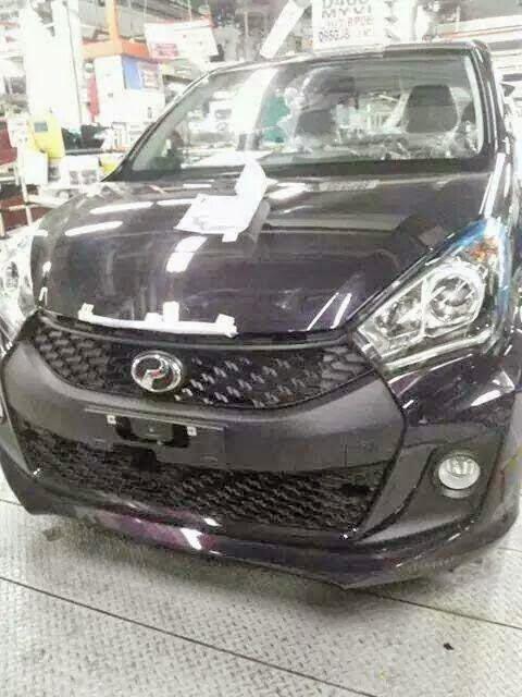 Gambar Perodua MYVI Baru 2015 New Facelift