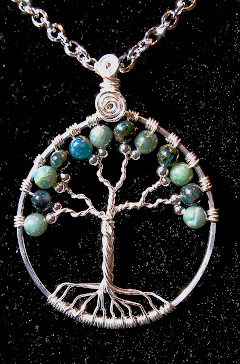 Tree of life with apatite