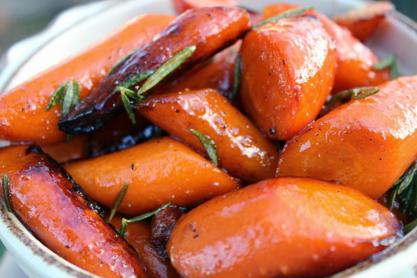 Katie Kay's Kitchen: Honey Glazed Carrots