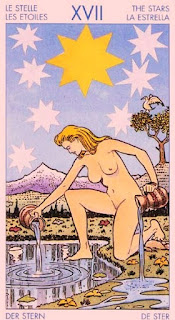 Arcano 17, La Estrella. Tarot Universal