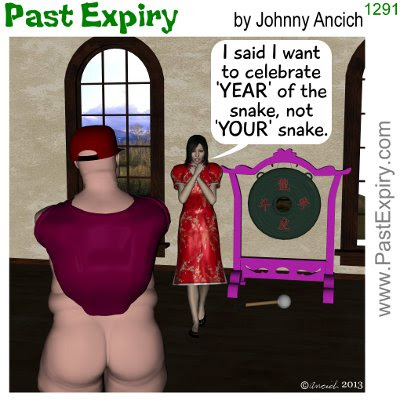 Cartoon about holiday, relationships, NewYears, DanceWithNoPants
