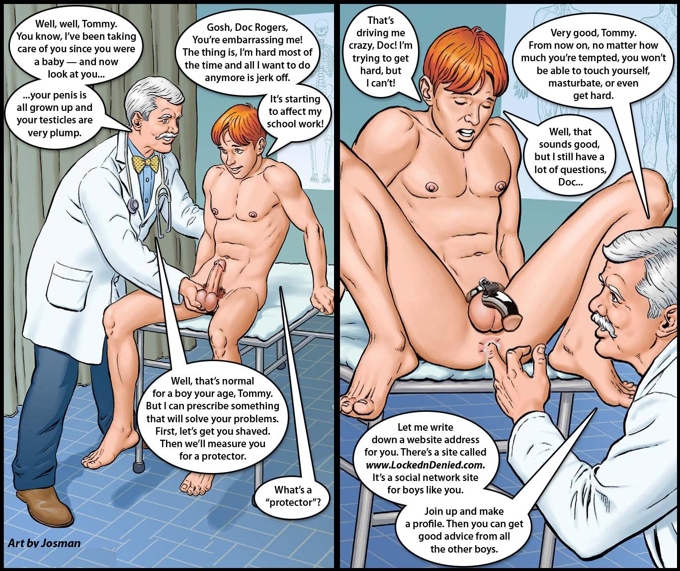 gays spanking