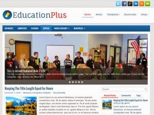 EducationPlus - Free Wordpress Theme