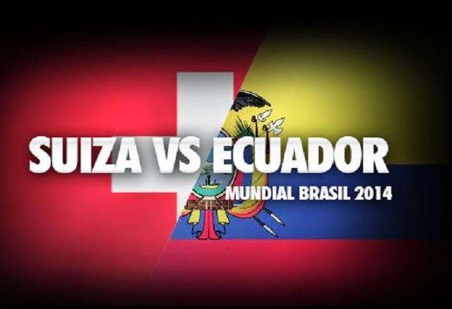 2 Bomber Goal Swiss vs Ekuador Sepanjang Masa