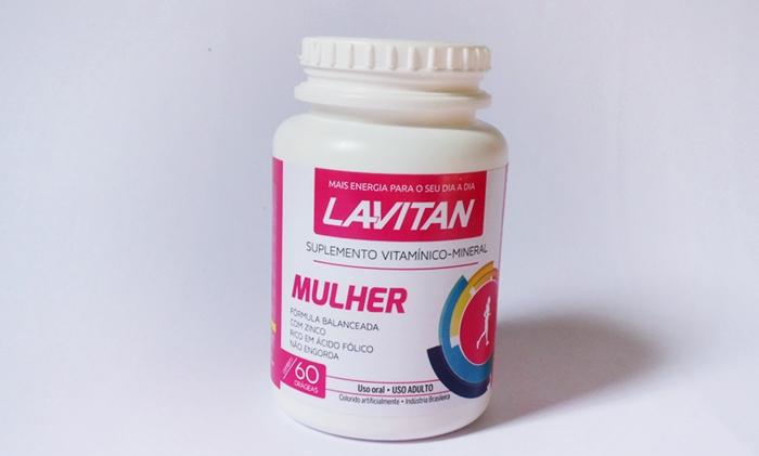 Lavitan Mulher: Suplemento Vitamínico-Mineral