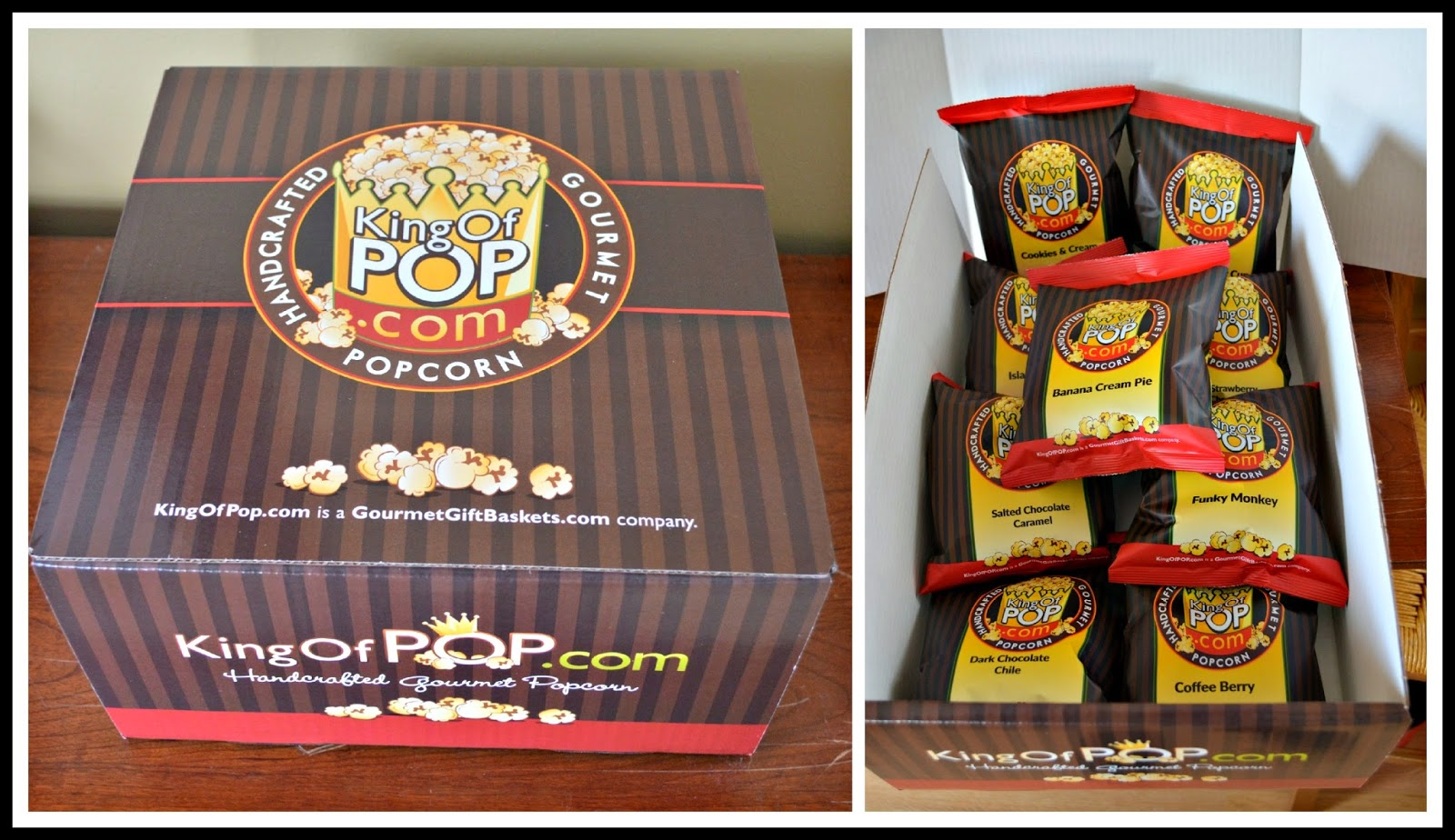 Chocolate Popcorn Sampler