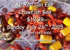 Crayfish Boil & Abita Beer