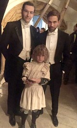 'THE CHILDHOOD OF A LEADER' FILMING - 02-03 2015