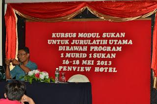 Kursus Modul Sukan Sofbol Untuk JU Jurulatih Utama Di Bawah Program 1 Murid 1 Sukan Peringkat Negeri Sarawak