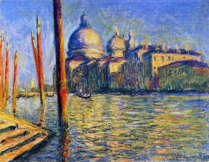 Claude Monet Le Grand Canal. 1908 Sotheby′s 1998