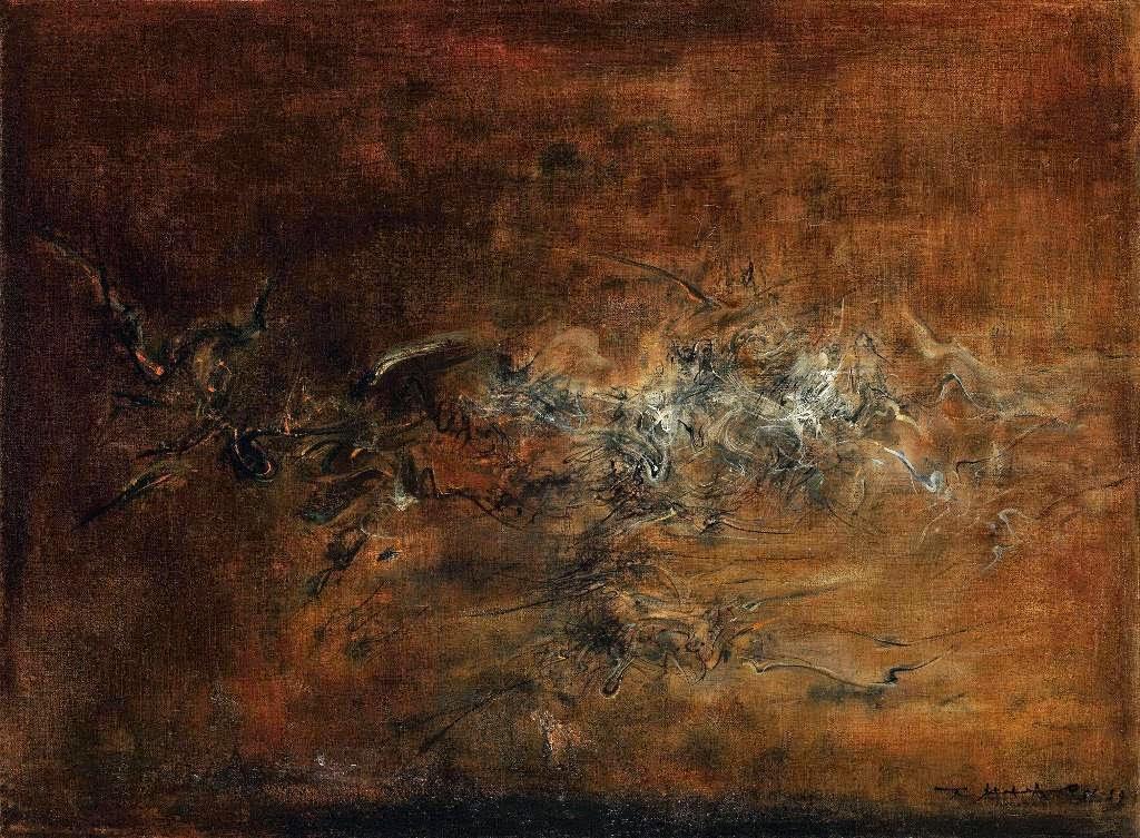 Чжао Уцзи Untitled 1958