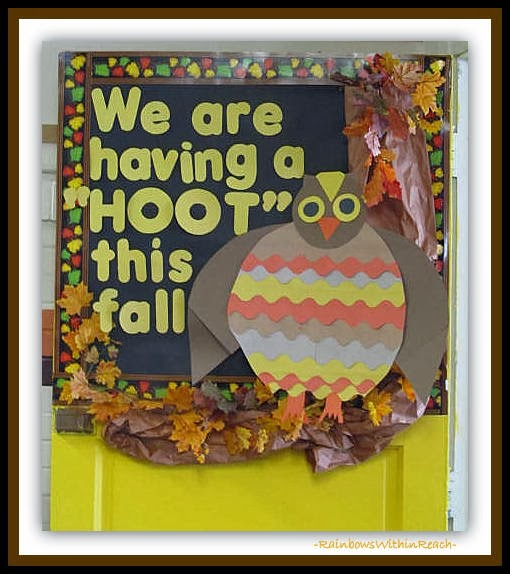 Fall Themed Classroom Door Decorations : Rainbowswithinreach spot