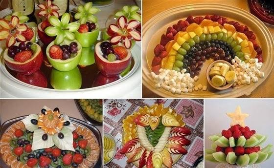 تتفنن النساء تقديم الطعام مبدأ