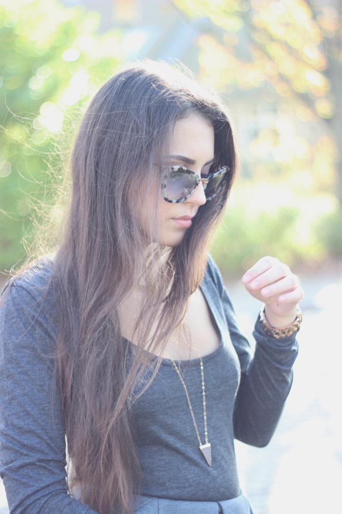 aimerose fashion blog miumiu kad8v1 havana sunglasses