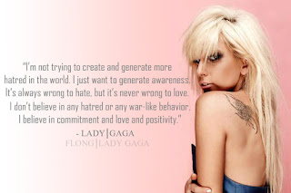 lady gaga quotation and saying