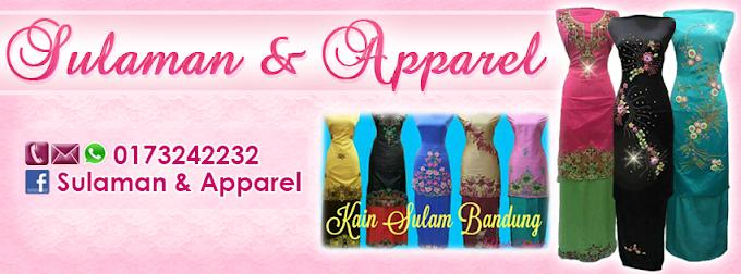 Tempahan Design Facebook Cover Photo: FB Sulaman & Apparel