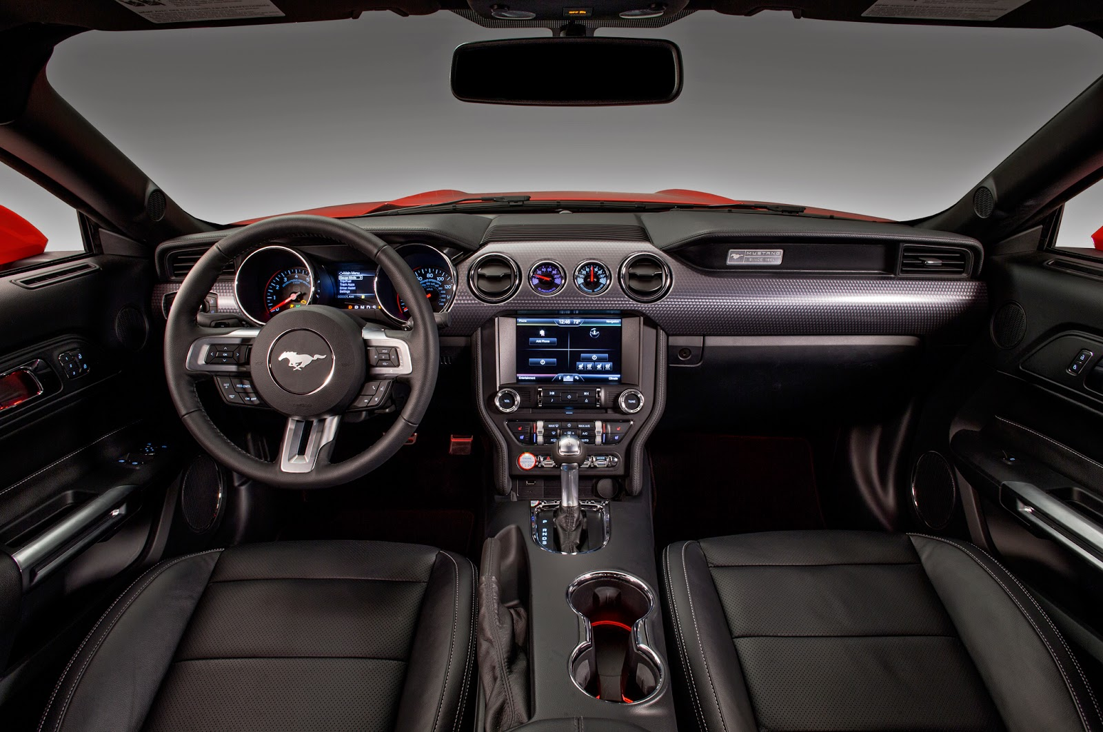 2015 ford mustang interior pictures - 2014 Ford Mustang Convertible Interior