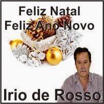 Rio Bonito do Iguaçu:Prefeito Irio de Rosso e família desejam a todos um Feliz Natal e um próspero