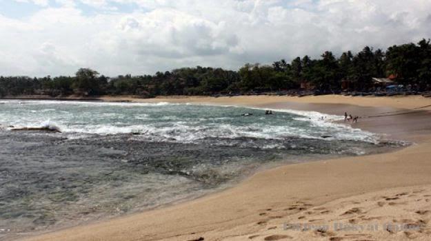 Objek Wisata Pantai Pasir Putih Gunung Geder, Kec. Cikelet, Garut Jawa Barat