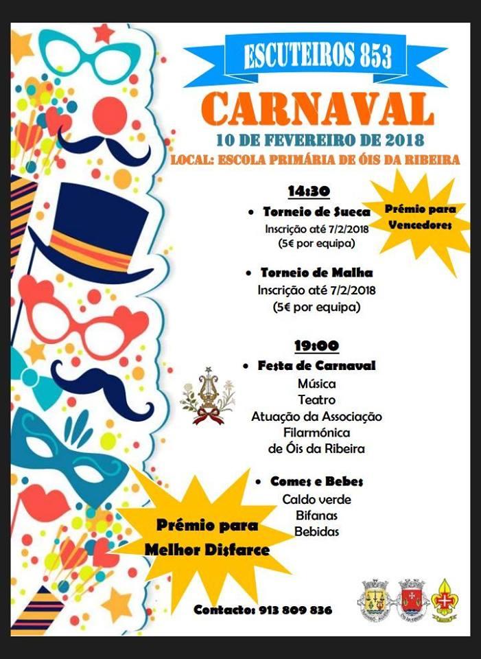 Carnaval dos Escuteiros de Travassô é em Óis da Ribeira!