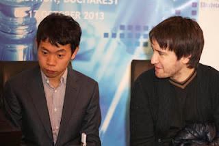 Teimour Radjabov (2733) 1/2 Wang Hao (2733) © Chessbase