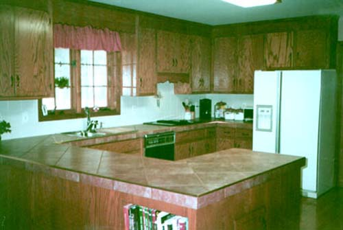 install a granite tile countertop in your kitchen