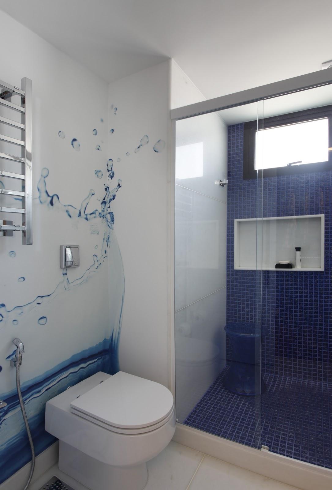 Marcela Sertã e Juliana Giusti Design de Interiores: BANHEIRO MENINO #24293F 1085 1600