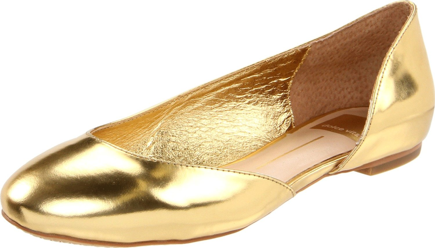 fashion trends golden gold flat glitter shoes