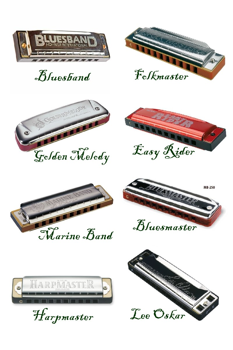 Types Of Suzuki Harps