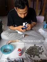 Tutorial membuat mahar atau mas kawin dari koin