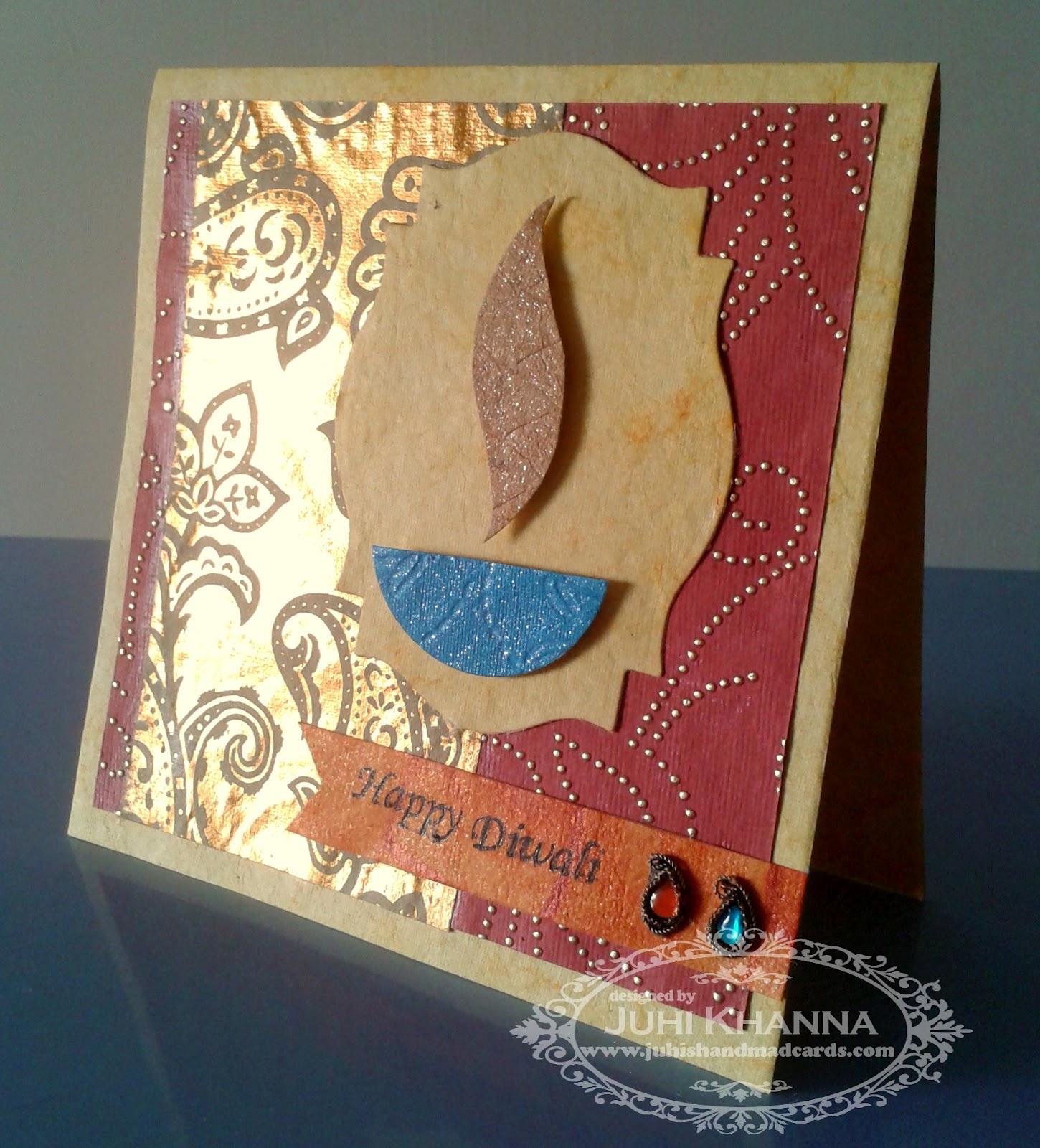 Juhi39;s Handmade Cards: Handmade Cards for Diwali