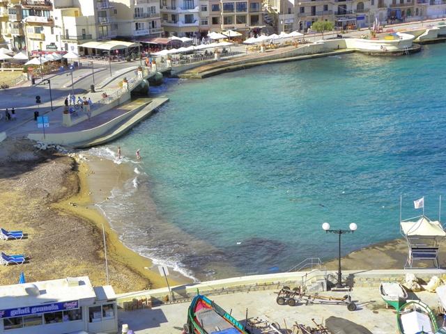 Marsalforn en Gozo