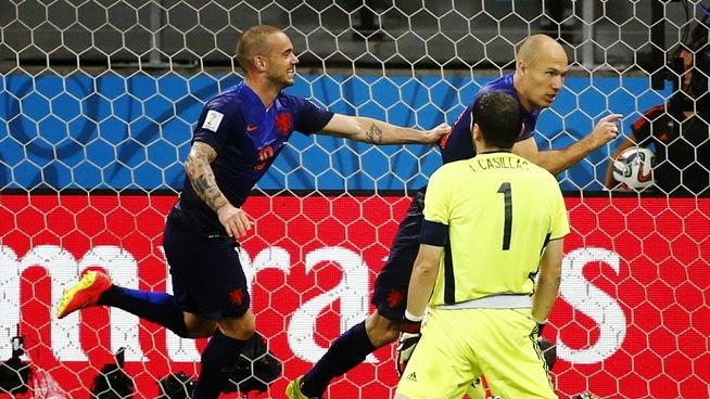 España sufrió una durísima derrota ante Holanda