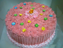 Rainbow cake-8&quot; available with buttercream, freshcream, cream cheese &amp; choc ganache