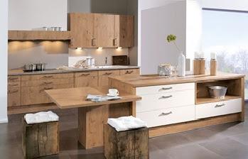 Decora y disena 10 fotos de cocinas de madera modernas for Cocinas modernas color madera