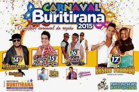 CARNAVAL DE BURITIRANA 2015