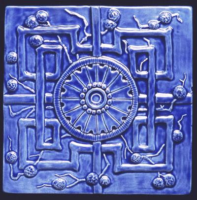 Decorative Handmade Ceramic Tile August 2013