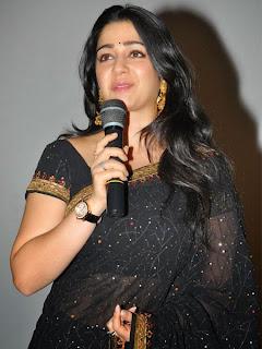 Charmi New Stills at Jyothi Lakshmi Trailer Launch Event