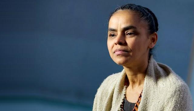 """Marina chora por crítica de Lula: """"Impossível acreditar""""."""